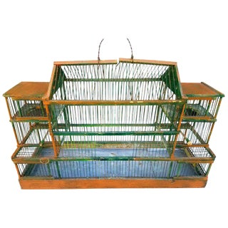 Antique Bird Cage For Sale