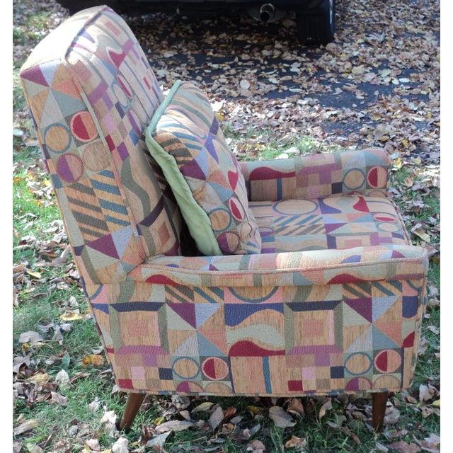 Mid-Century Modern Lounge Club Chair - Image 4 of 9