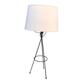 Mid-Century Modern Iron Table Lamp After McCobb For Sale