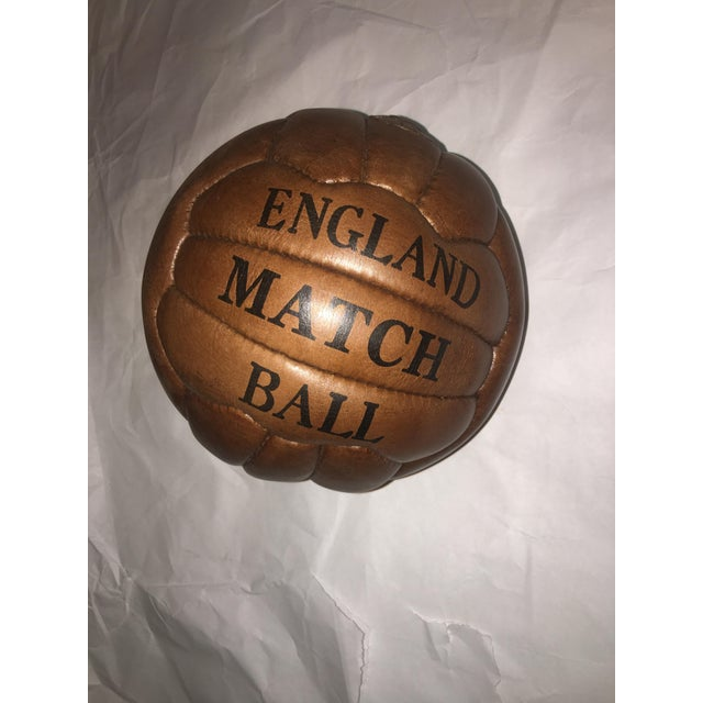 English Soccer Match Leather Ball - Image 2 of 9