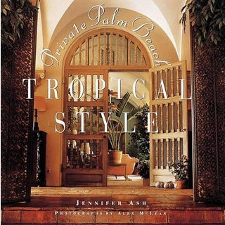 Private Palm Beach Tropical Style Book For Sale