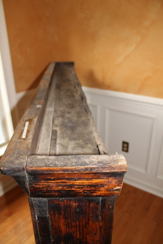 Antique English Walnut Plate Rack - Image 7 of 9  sc 1 st  Chairish & Antique English Walnut Plate Rack   Chairish