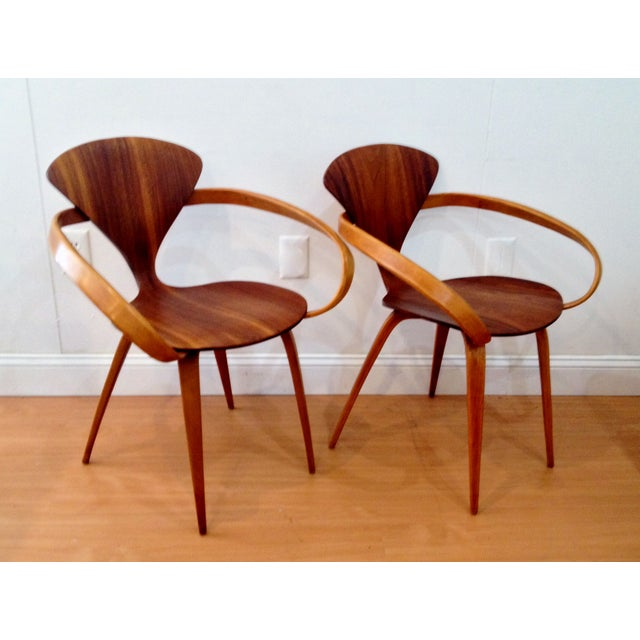 Norman Cherner Pretzel Chairs - A Pair - Image 6 of 7