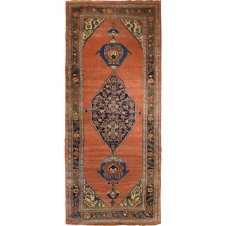 Antique Persian Bidjar Gallery Rug For Sale