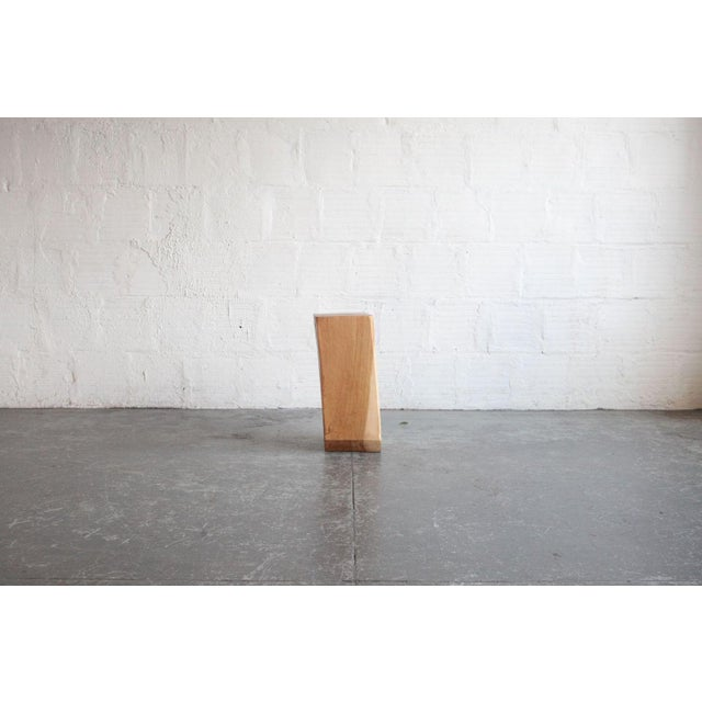 Early 21st Century Contemporary Vince Skelly Rectangular Wood Sculpture For Sale - Image 5 of 5