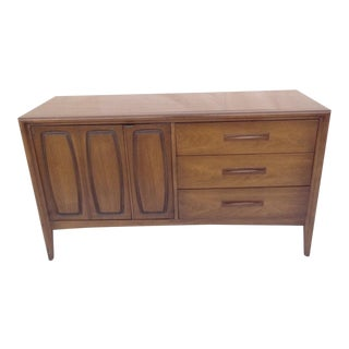 Danish Modern Sculptural Floating Sideboard