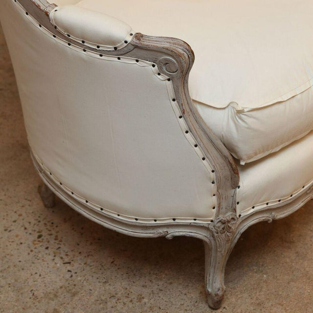 Gustavian (Swedish) Painted 19th Century Swedish Canapé For Sale - Image 3 of 6