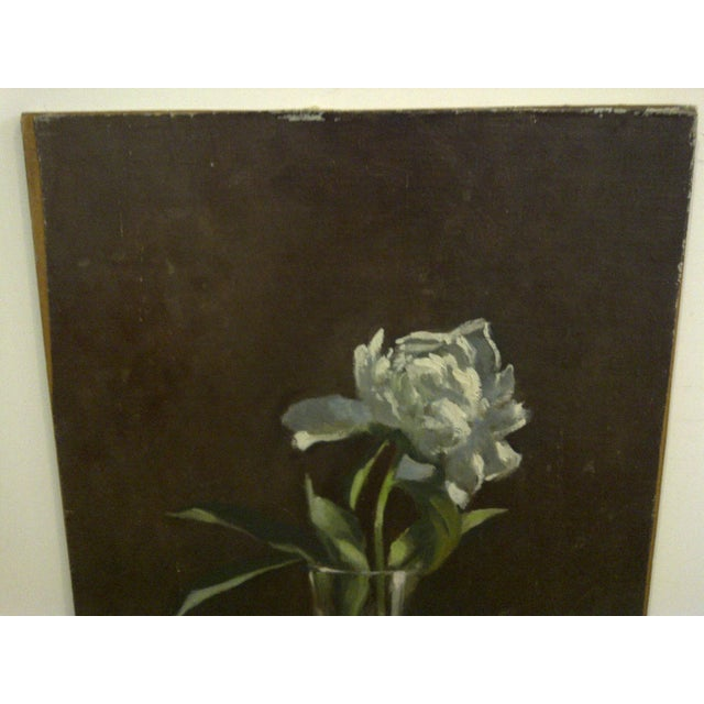 """""""The Flower"""" Original Frederick McDuff Painting For Sale - Image 5 of 8"""
