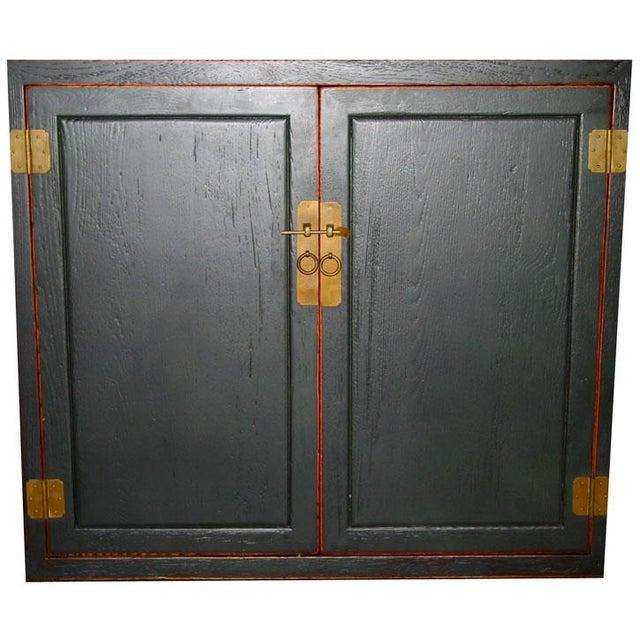 Antique Black Sideboard For Sale - Image 4 of 6