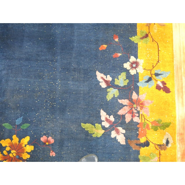 Chinese Art Deco Rug, 9' x 11'9'' - Image 5 of 9
