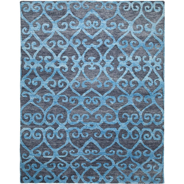 From our Mandala Collection, this handmade Tibetan rug can be customized in color, shape and size upon request. Standard...