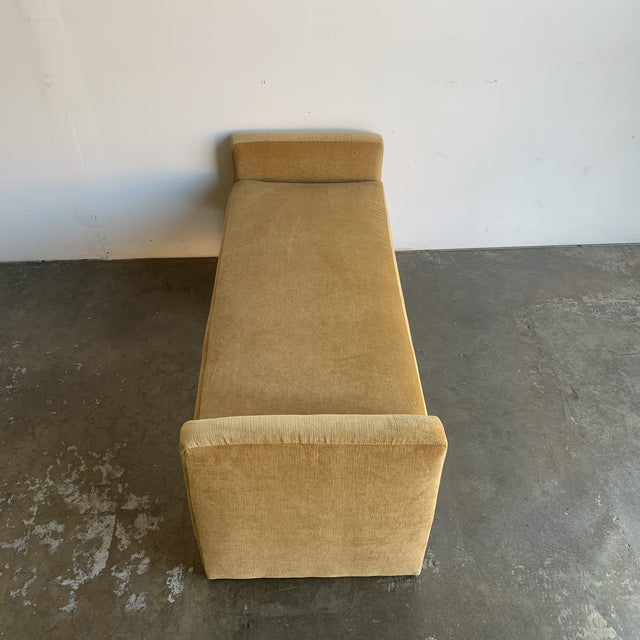 Post Modern Bench- Mustard For Sale - Image 9 of 13
