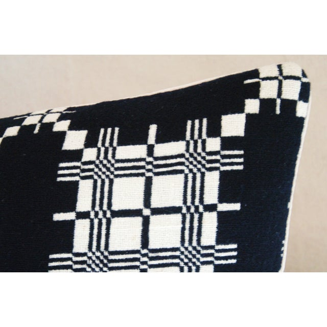 Custom 19th-C. New England Coverlet Pillows - Pair - Image 9 of 11