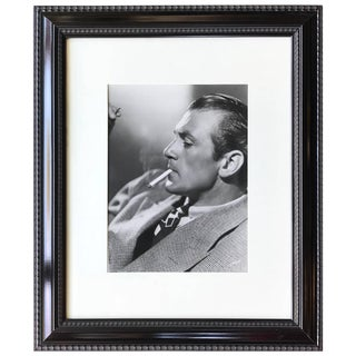 Hollywood Glamour Portrait Photograph of Gary Cooper by Clarence Sinclair Bull For Sale