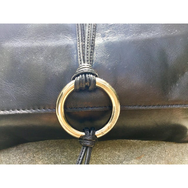 Contemporary Dolce & Gabbana Black Calfskin Clutch For Sale - Image 3 of 6
