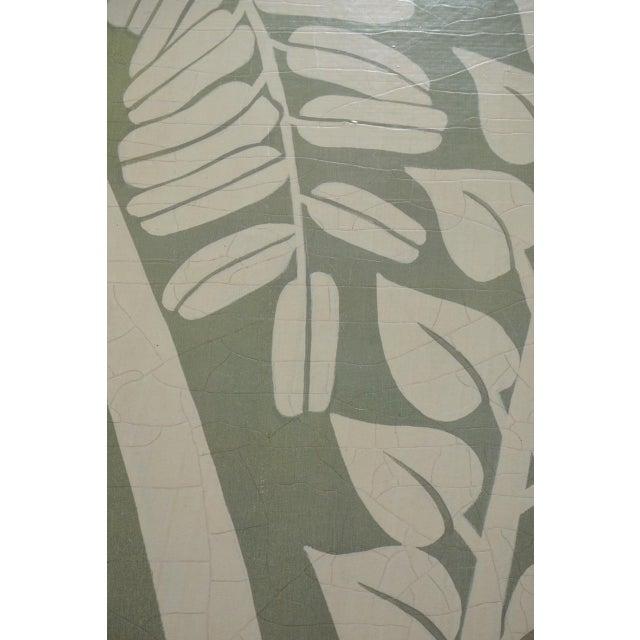 Floral Fern Organic Modern Botanical Art For Sale - Image 4 of 7
