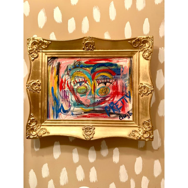 Abstract Face by Ebony Boyd For Sale - Image 4 of 5