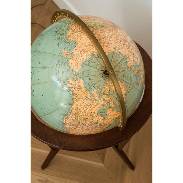 Dunbar Illuminated Terrestrial Globe For Sale In San Francisco - Image 6 of 8