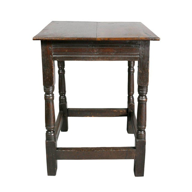 Oak Jacobean Oak Table For Sale - Image 7 of 10