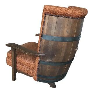 Vintage Bourbon Whiskey Barrel Chair