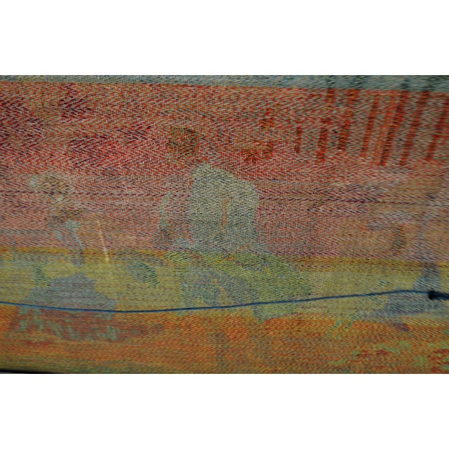 Early Framed Tapestry Wall Art - Image 10 of 11