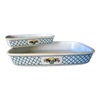 Villeroy & Boch Rectangular Baking Dishes - A Pair For Sale