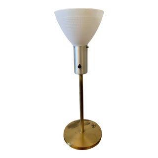 1950s Vintage Walter Von Nessen Table Lamp For Sale