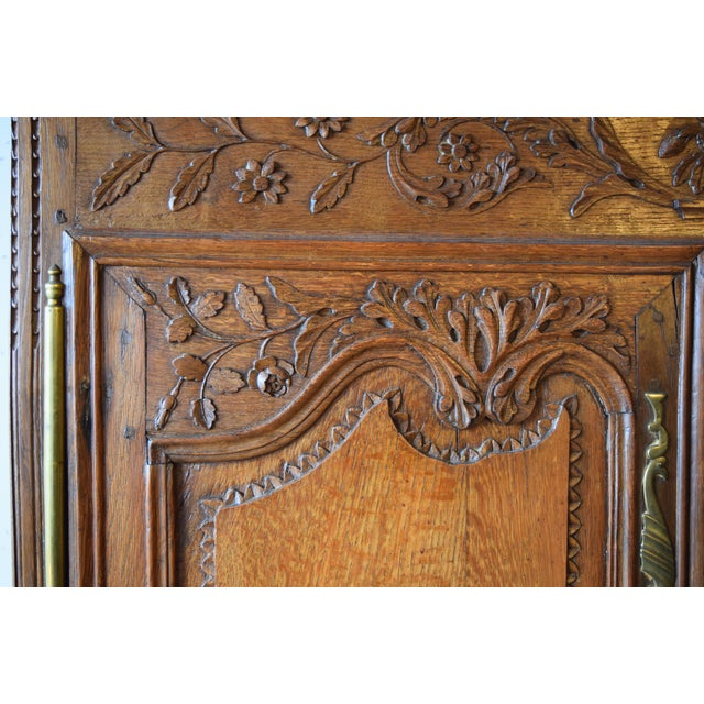 Mid 19th Century Antique French Oak Double Buffet, Circa 1860 For Sale - Image 5 of 13
