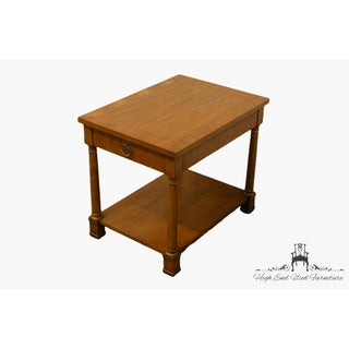 20th Century Traditional Henredon Banded Mahogany End Table Preview