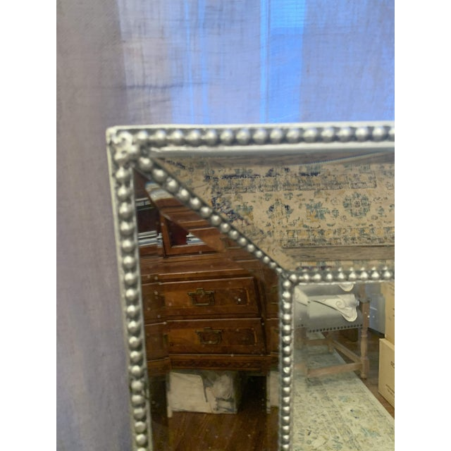 Restoration Hardware Restoration Hardware Venetian Beaded Mirror For Sale - Image 4 of 11