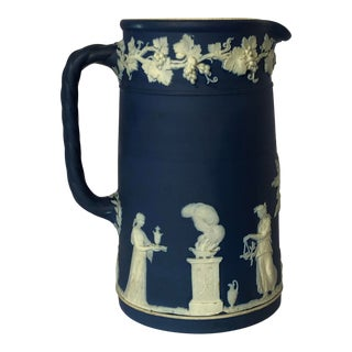 Antique Wedgwood Jasperware Pitcher For Sale