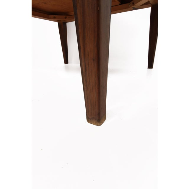 Wood Mid Century Modern Single Drawer Side Table For Sale - Image 7 of 10
