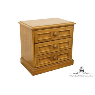 Late 20th C. Vintage Drexel Esperanto Collection Spanish Revival Three Drawer Nightstand Preview