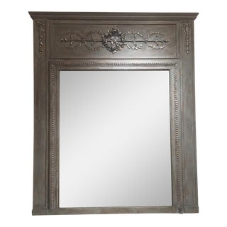 20th Century French Trumeau Mirror For Sale