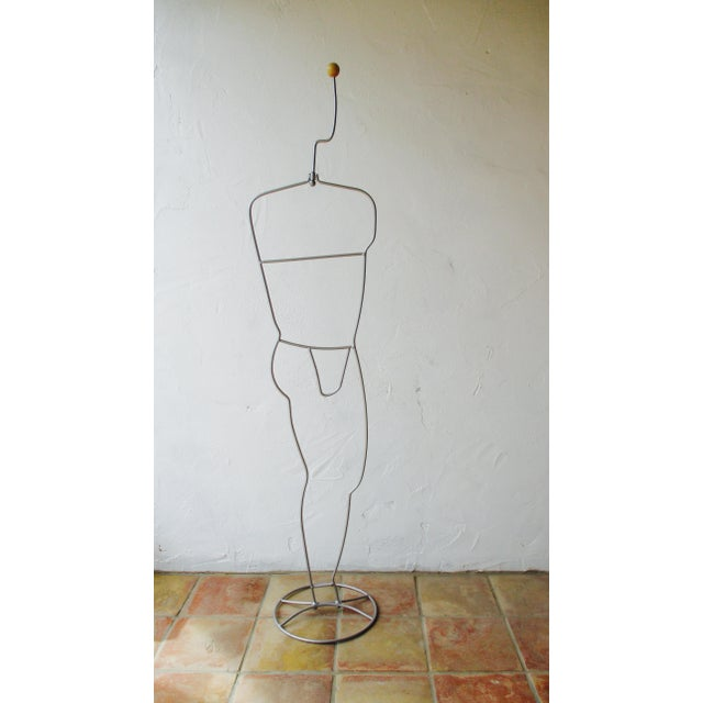Modernist Abstract Industrial Wire Mannequin | Chairish