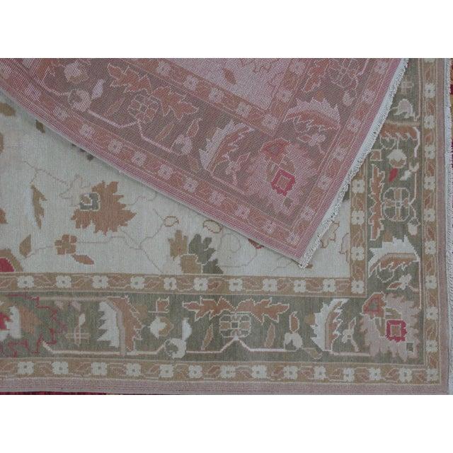 Turkish Oushak Design Hand Woven Wool Rug - 4' X 6' - Image 4 of 5