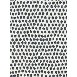 Sample, Scalamandre Dot Weave, Indigo Fabric For Sale