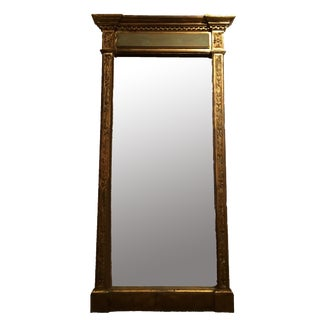 19th C. Neoclassical Mirror For Sale
