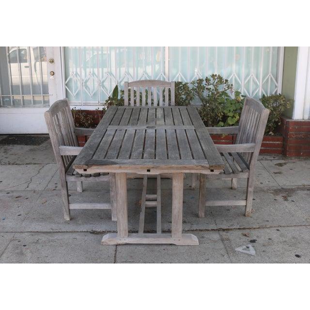 Vintage Smith And Hawken Teak Outdoor, Smith And Hawken Teak Patio Furniture