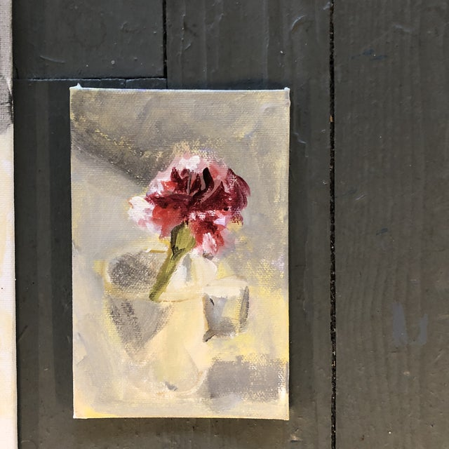 Gallery Wall Collection 3 Original Contemporary Still Life Paintings For Sale - Image 4 of 6
