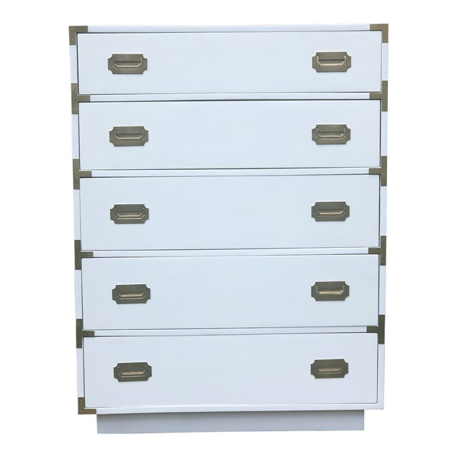 1960s Campaign Dixie Tall Dresser For Sale