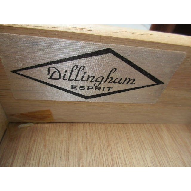 Dillingham Esprit Nightstand For Sale - Image 11 of 12