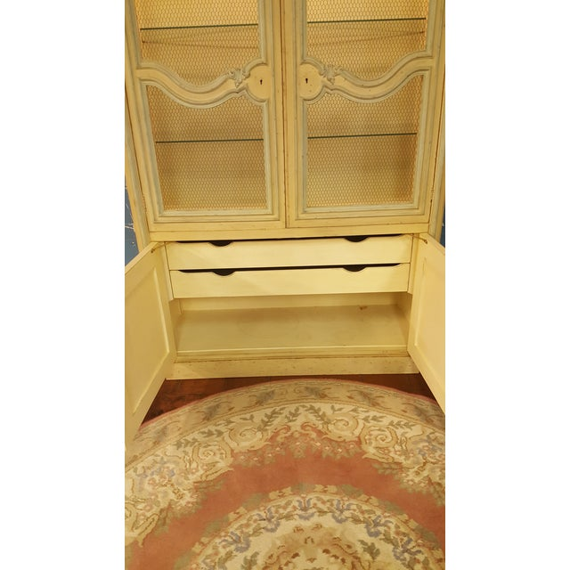Baker French Provincial China Cabinet - Image 11 of 11