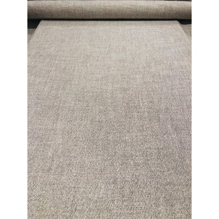 Kravet Lucky Suit Multipurpose Heather Grey Wool Designer Fabric - 2 Yards For Sale