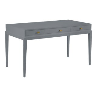 Casa Cosima Hayes Desk, Dior Gray For Sale