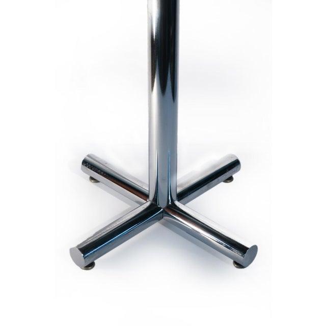 Chrome & Black Side Table - Image 3 of 5