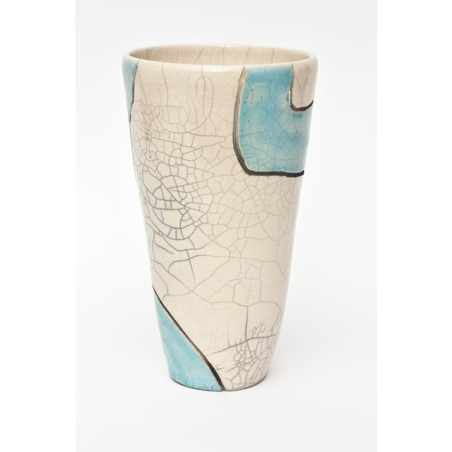 Vintage Raku Ceramic Nude Vase, Signed For Sale In Miami - Image 6 of 11