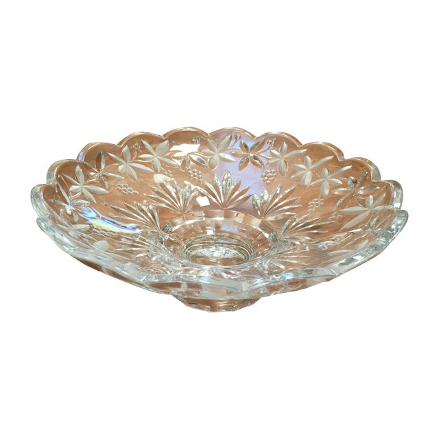 Crystal Centerpiece Bowl - Image 1 of 5