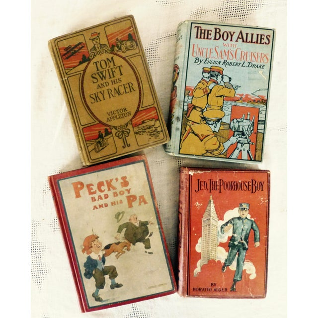 Collection of Antique Boys' Books - Set of 4 - Image 2 of 10