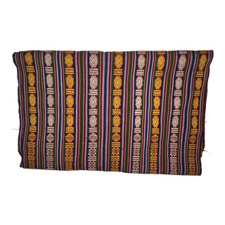 Colorful Hand Woven Runner From Bhutan For Sale